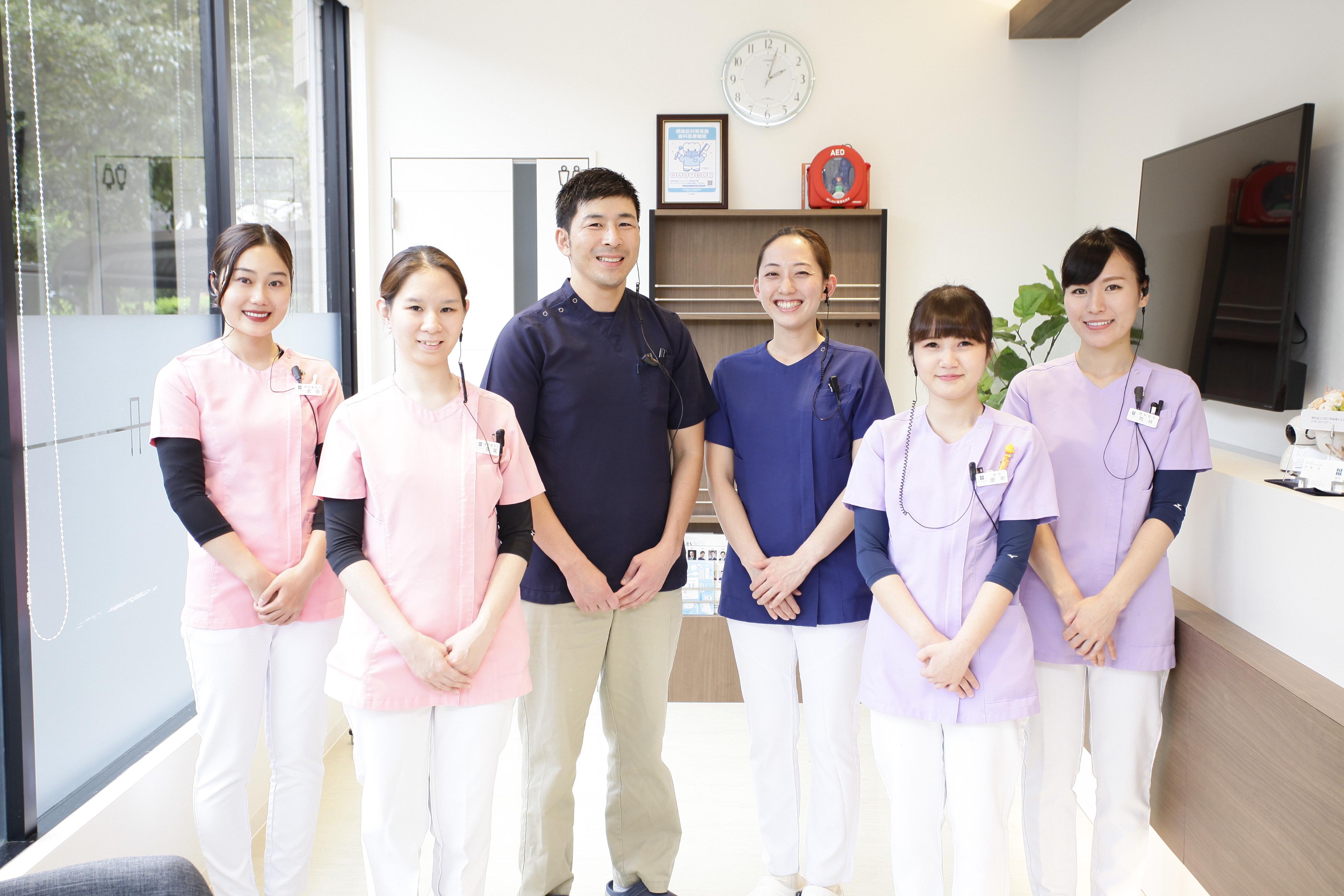 2020年、2021年卒の歯科衛生士さん大歓迎!予防を中心に考えた新しい歯科医院です。きれいな職場で一緒に働きましょう。